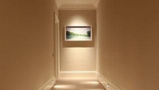 Iluminar os corredores de casa