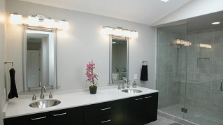Lâmpadas para casas de banho